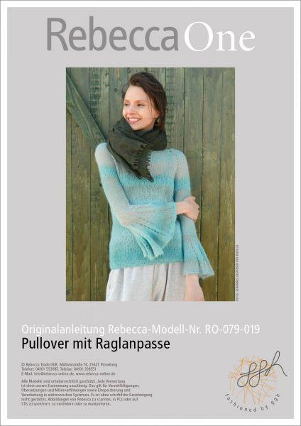 Anleitung - Pullover mit Raglanpasse