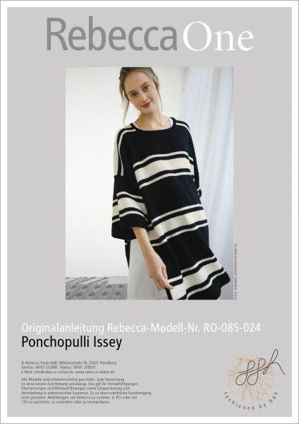 Anleitung - Ponchopulli Issey