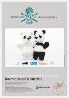 """Häkelanleitung Panda """"Träumchen und Schätzchen"""""""