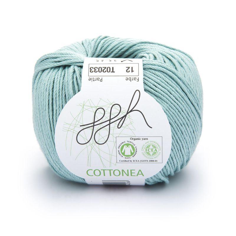 Meeresfarben: ggh Garn Cottonea
