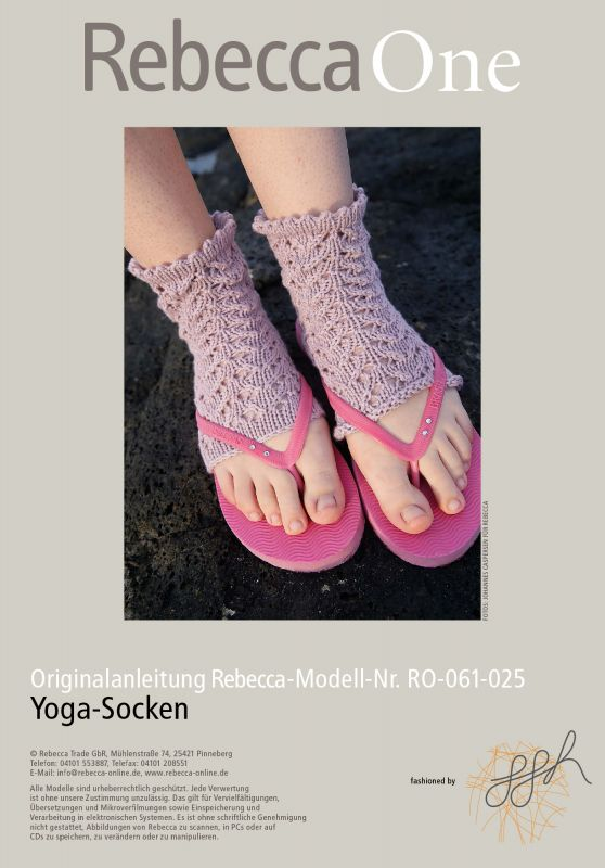 Yoga-Socken: kostenlose Strickanleitung