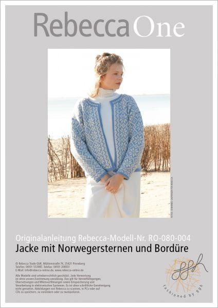 Anleitung - Jacke mit Norwegersternen