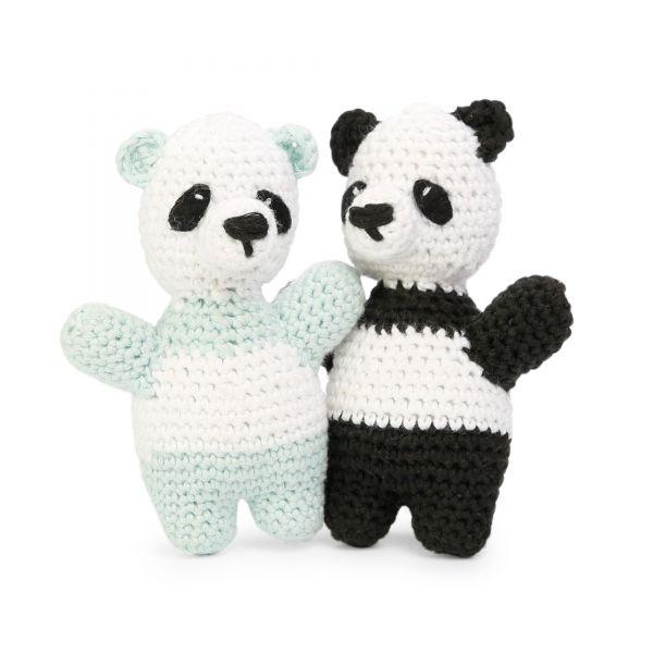 """Häkelset Panda Bären """"Träumchen und Schätzchen"""""""