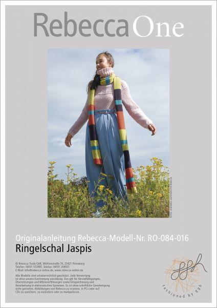 Anleitung - Ringelschal Jaspis