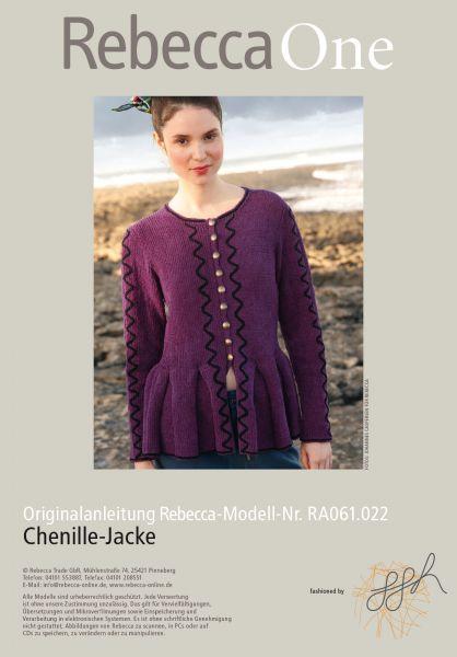 Chenille-Jacke