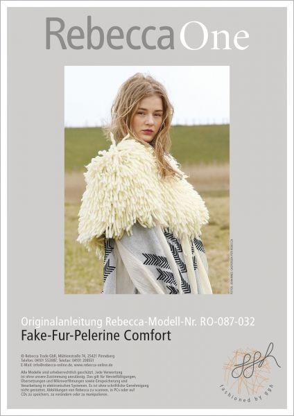 Anleitung - Fake-Fur-Pelerine Comfort