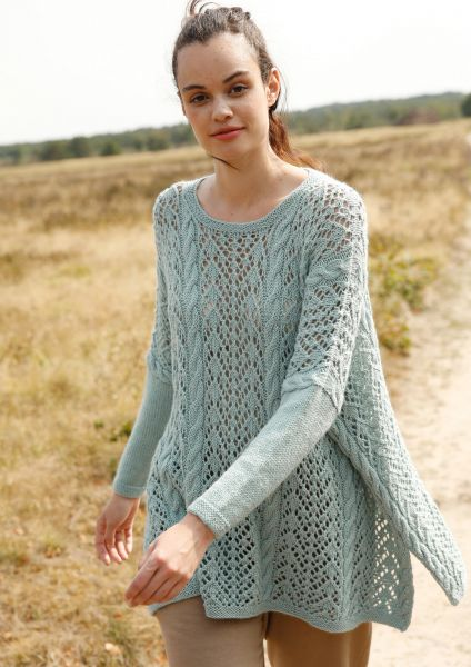 e16addc9f Loose fitting peep-hole pattern jumper