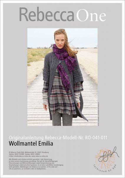 Strickanleitung: Wollmantel Emilia