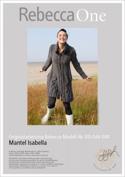 Anleitung - Mantel Isabella