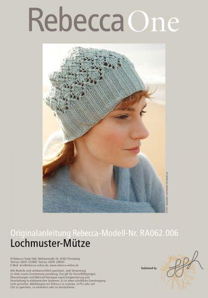 Lochmustermütze Brunhilde