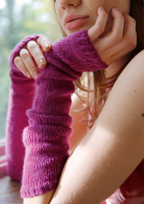 Armstulpen stricken