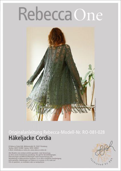 Anleitung - Häkeljacke Cordia
