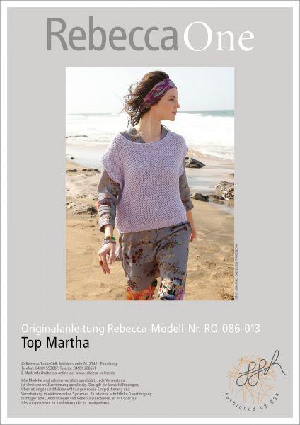 Strickanleitung - Top Martha