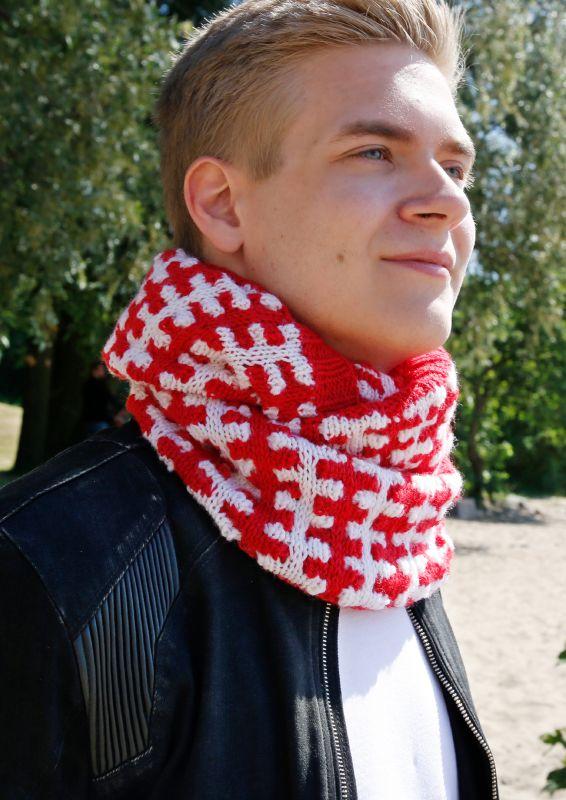 Schweizloop mit Hebemaschen stricken