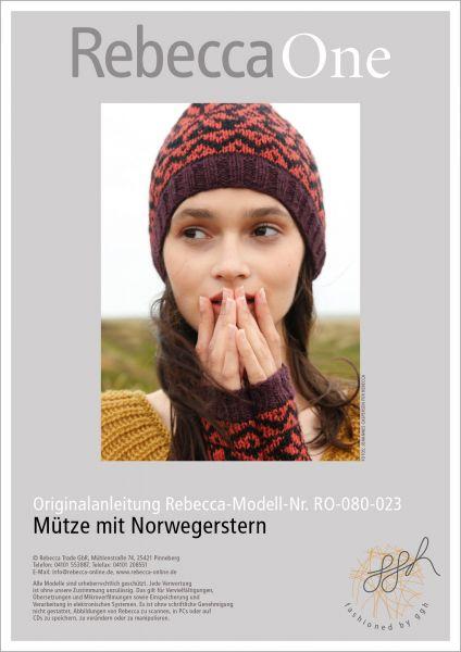 Anleitung - Mütze mit Norwegerstern