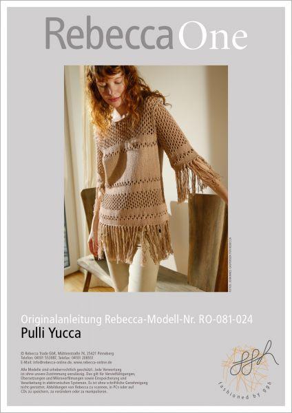 Anleitung - Pulli Yucca