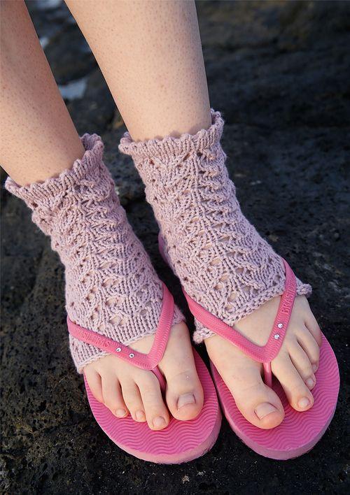 Kostenlose Strickanleitung: Yoga-Socken stricken