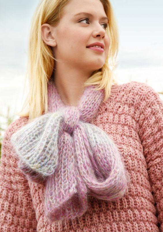 Stricken für Anfänger: Melierten Schal stricken