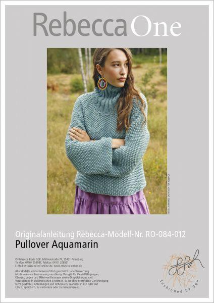 Anleitung - Pullover Aquamarin