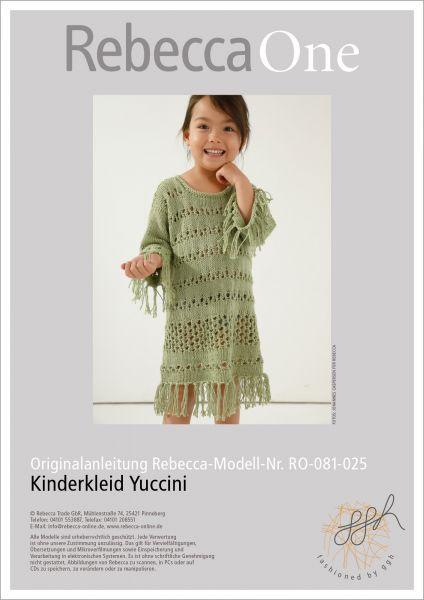 Anleitung - Kinderkleid Yuccini