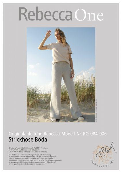 Anleitung - Strickhose Böda