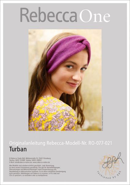 Strickanleitung - Turban