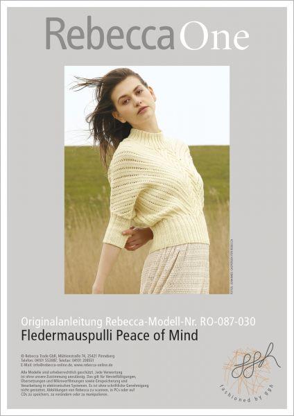 Fledermauspulli Peace of Mind