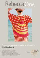 Strickmuster - Mini-Rucksack
