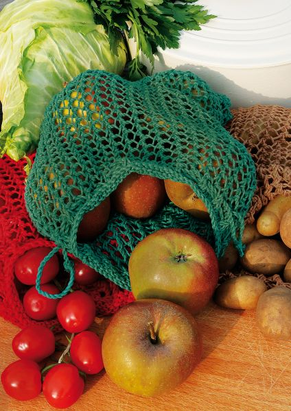 Umweltfreundliche Gemüse- und Obstnetze