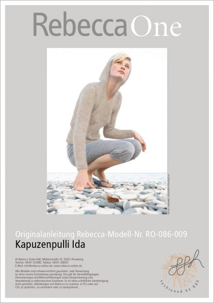 Strickanleitung – Kapuzenpulli Ida