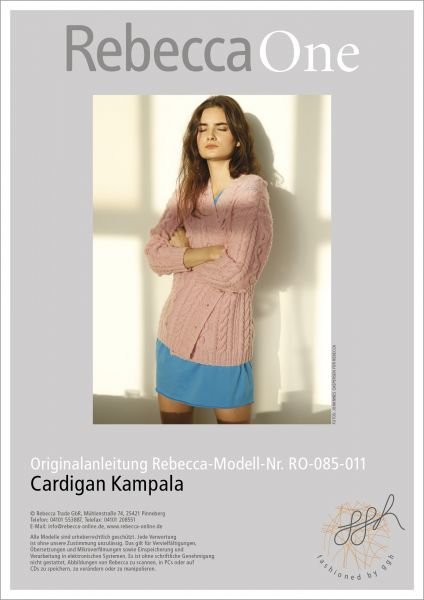Anleitung - Cardigan Kampala