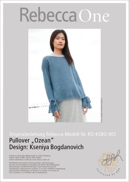 "Anleitung - Pullover ""Ozean"""