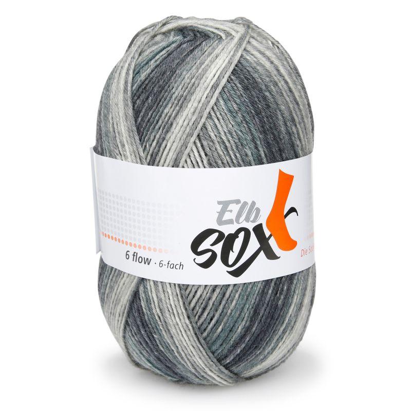 ElbSox Sockenwolle 6fach Schurwolle