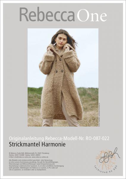 Anleitung - Strickmantel Harmonie