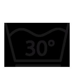 1e Schonwaschgang, 30° Grad