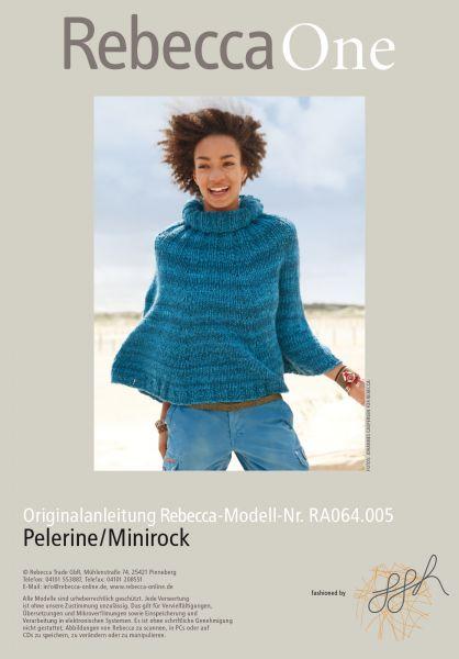Pelerine/Minirock