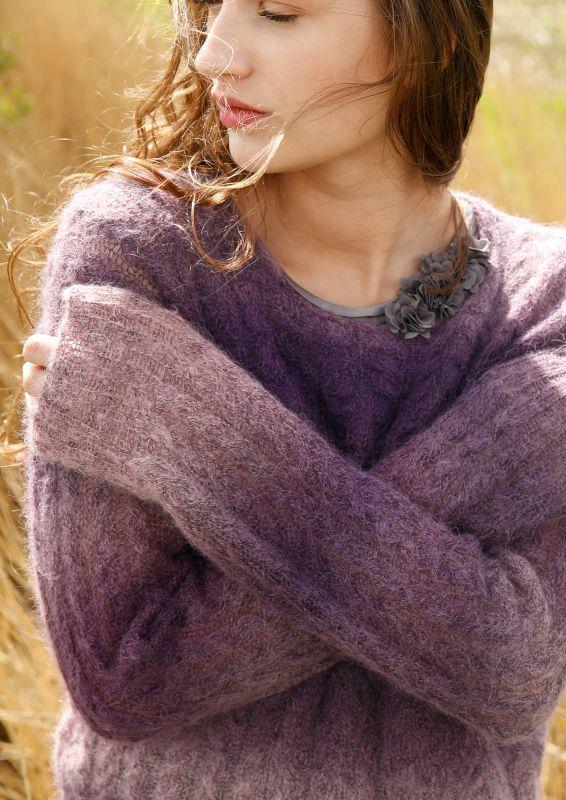 Pullover mit Zoepfen stricken