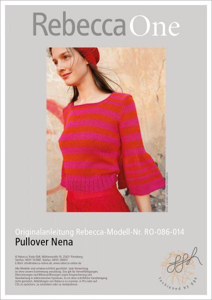 Strickanleitung - Pullover Nena