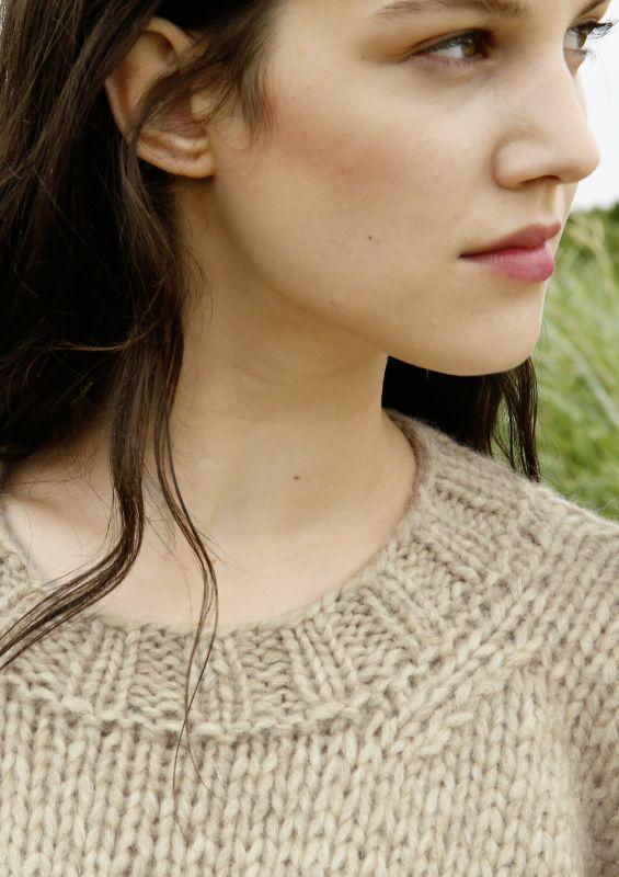 Pullover aus Alpaka-Wolle