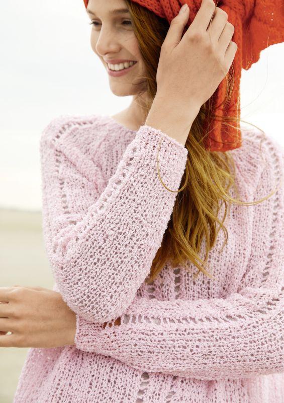 Raglan von oben RVO Pullover stricken