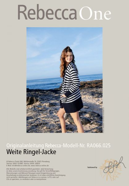 Weite Ringel-Jacke