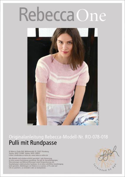 Anleitung - Pulli mit Rundpasse