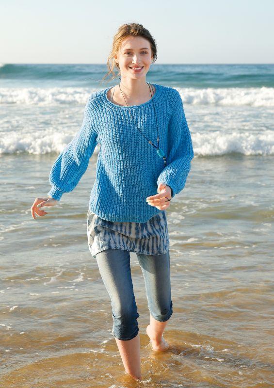 Rebecca Magazin Nr.70: Pullover im Halbpatent