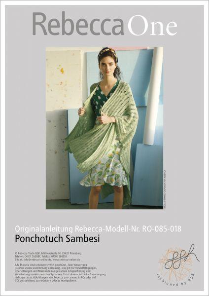 Anleitung - Ponchotuch Sambesi
