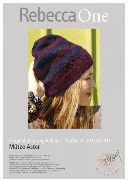 Mütze Aster