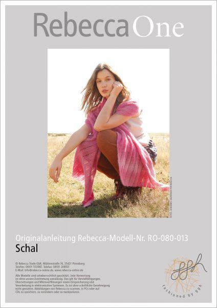 Anleitung - Schal