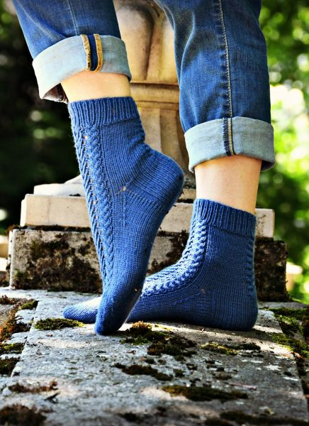 "Socken ""Iris"""