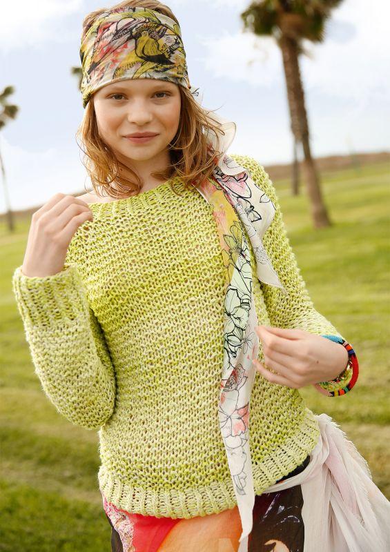 Kostenlose Strickanleitung: Raglan-Pullover stricken