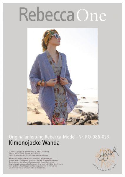 Strickanleitung - Kimonojacke Wanda