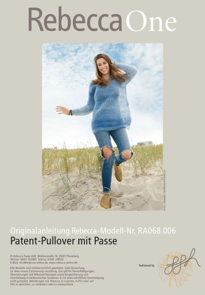 Pullover mit Passe